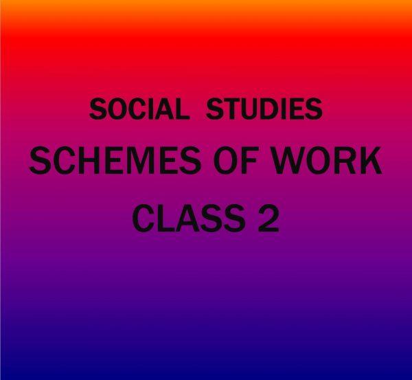 Class 2-KLB Social Studies-Schemes of work