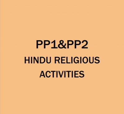 Pre-Primary 1&2-Hindu Religion Activities.