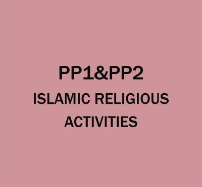 Pre-Primary 1&2-Islamic Religion Activities.