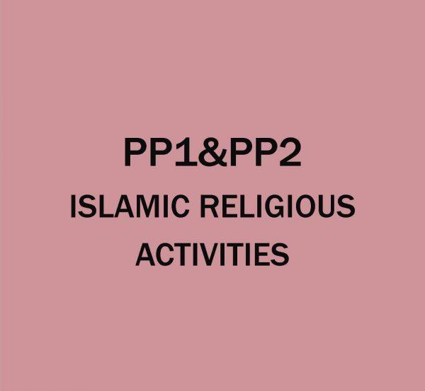 Pre-Primary 1&2-Islamic Religion Activities.