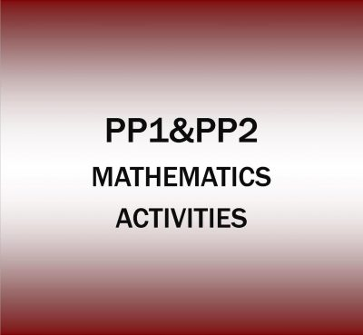 Pre-Primary 1&2-Mathematics Religion Activities.