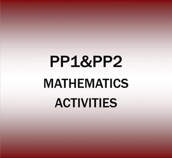 Pre-Primary 1&2-Mathematics Religion Activities.