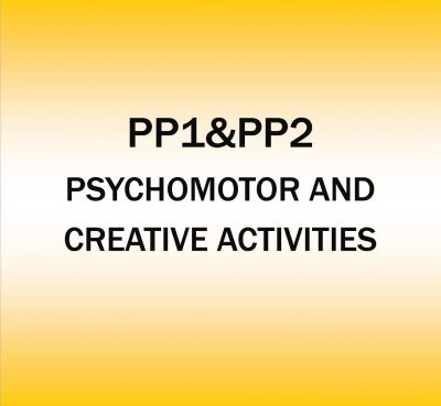 Pre-Primary 1&2-Psychomotor and creative Activities.