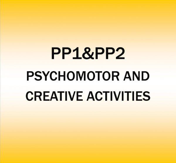 Pre-Primary 1&2-Psychomotor and creative Activities.
