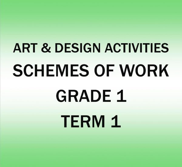 Grade 1 - Art and Design Activities - Term 1 - Scheme of work