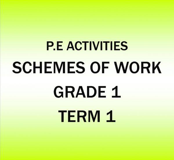 Grade 1 - P.E Activities - Term 1 - Scheme of work