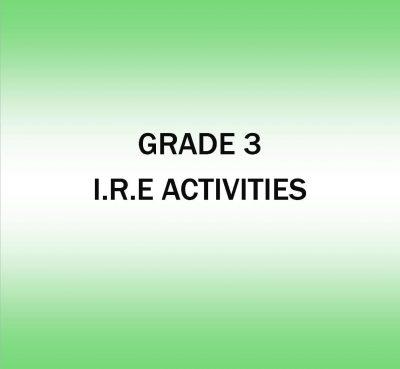 IRE Activities