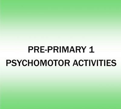 PSYCHOMOTOR ACTIVITIES