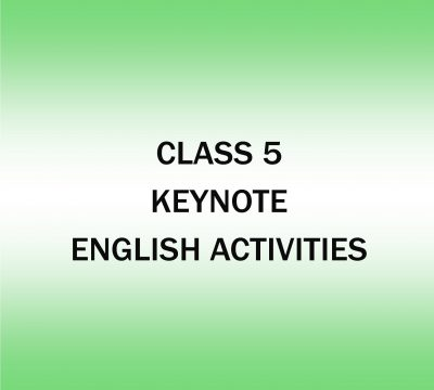 English Activities