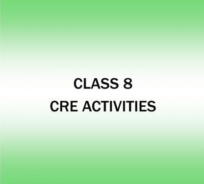 C.R.E Activities