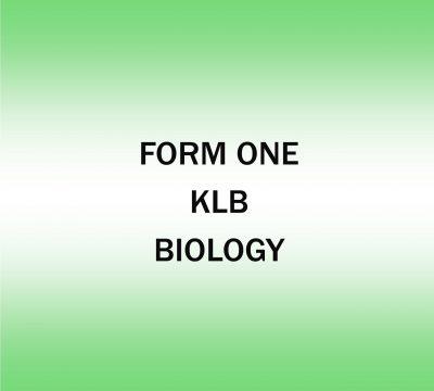 Biology Activities