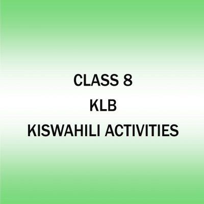 Kiswahili Activities