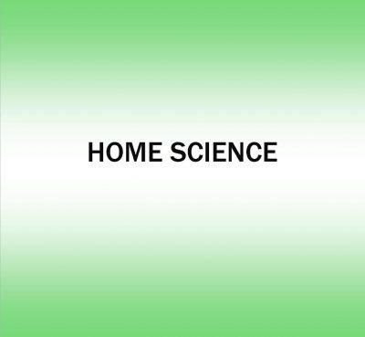 Home Science Activities