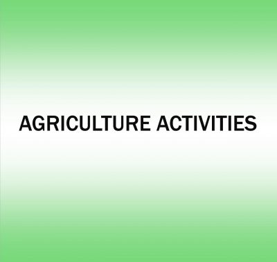 Agriculture Activities