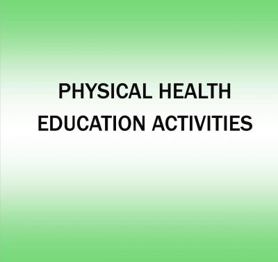 Physical Health Education Activities